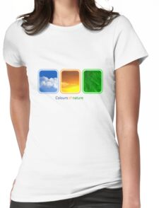 Three colours of nature II Womens Fitted T-Shirt