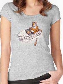 Life of a pie Women's Fitted Scoop T-Shirt