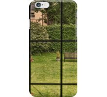 Through the Window - Garden View iPhone Case/Skin