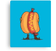 Flash food Canvas Print