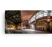 Behind The Station - Waterloo Canvas Print