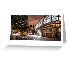 Behind The Station - Waterloo Greeting Card