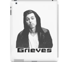 Grieves Print iPad Case/Skin