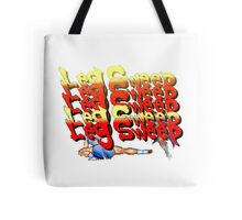 Street Fighter 2:  Leg Sweep Edition Tote Bag