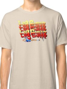 Street Fighter 2:  Leg Sweep Edition Classic T-Shirt