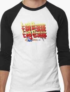 Street Fighter 2:  Leg Sweep Edition Men's Baseball ¾ T-Shirt