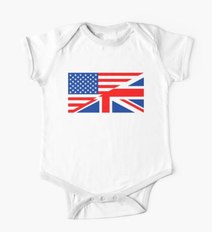 english language flag One Piece - Short Sleeve