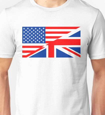 english language flag Unisex T-Shirt