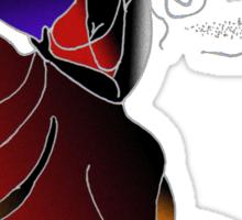 Flamenco -Tshirt -II Sticker