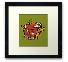 Zombies Fruits Framed Print