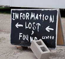 Information Lost by Robert Baker