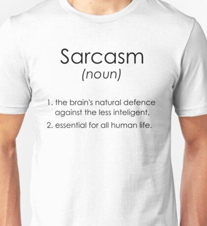Sarcasm Unisex T-Shirt
