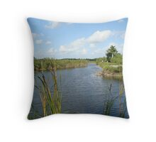 The Everglades National Park, yet again Throw Pillow