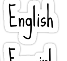 Fluent in: English, Sarcasm and Fangirl Sticker