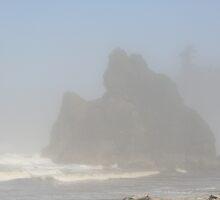 """""""Spooky Sea Stacks"""" by Lynn Bawden"""