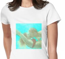 Watercolor - Lovers In The Sea Womens Fitted T-Shirt
