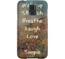 Simple Samsung Galaxy Case/Skin
