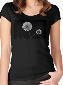 Dandy Lion Mono Women's Fitted Scoop T-Shirt