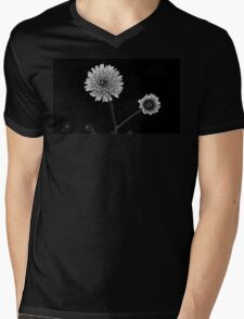 Dandy Lion Mono Mens V-Neck T-Shirt