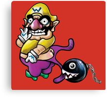 Wario Coppertone Ad Canvas Print