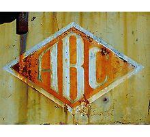 ABC Photographic Print
