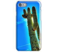Saguaro Backlit iPhone Case/Skin
