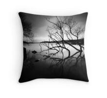 Mr Tree Throw Pillow