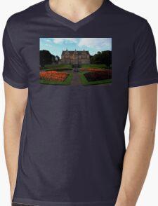 Bangor Castle Mens V-Neck T-Shirt