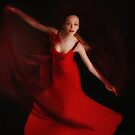 Red dance by Aleksandra Misic