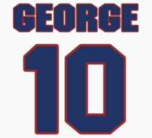 National Hockey player George Armstrong jersey 10 by imsport
