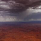 Rain over the Nullarbor by Doug Thost