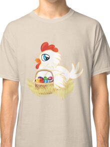 Hen with Easter Eggs Classic T-Shirt