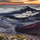 Sunrise Over Haleakala by Philip James Filia