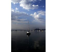 Calm Mooring Photographic Print