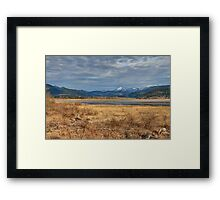 Moody Morning Framed Print