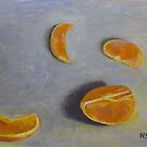 Tangerine slices by N. Sue M. Shoemaker