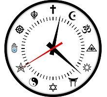 religions clock by tony4urban