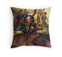The Evolution of Revolution Throw Pillow