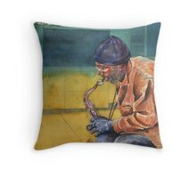 You've gotta live it to play it Throw Pillow