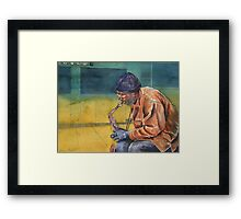 You've gotta live it to play it Framed Print