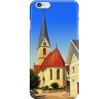 The village church of Allhaming III | architectural photography iPhone Case/Skin