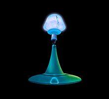 Moon Lamp by Stuart Wilson
