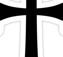 Armenian Cross or Blooming Cross Sticker