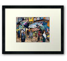 Market Day in Alexandria Framed Print