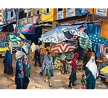 Market Day in Alexandria Photographic Print