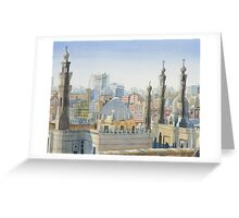 Cairo Calling Greeting Card