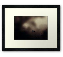 I Will Follow You Into The Dark Framed Print