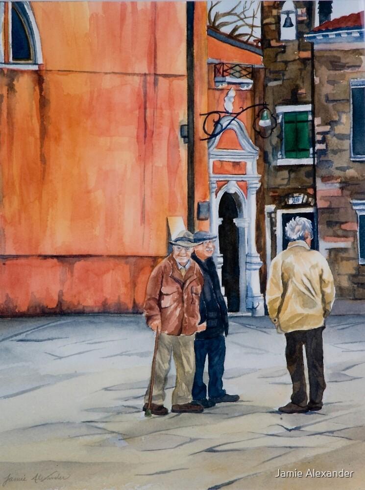 The Three Men of Burano by Jamie Alexander