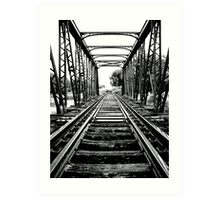 End of the line... Art Print