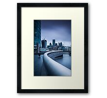 The City from More London Framed Print